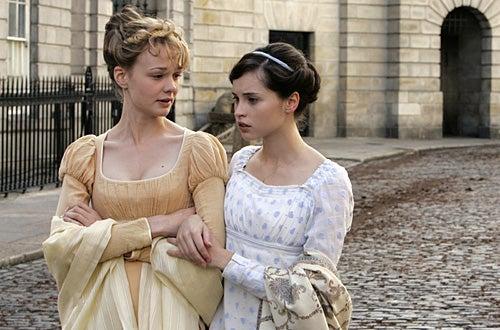 "Masterpiece - The Complete Jane Austen: ""Northanger Abbey"" - Carey Mulligan as ""Isabella Thorpe"", Felicity Jones as ""Catherine Morland"""