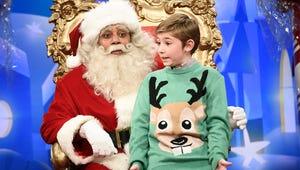 Santa Fields Kids' Questions about Al Franken, Roy Moore on Saturday Night Live