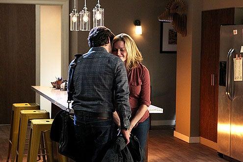 """CSI - Season 14 - """"Boston Breaks"""" - James Callis and Elisabeth Shue"""