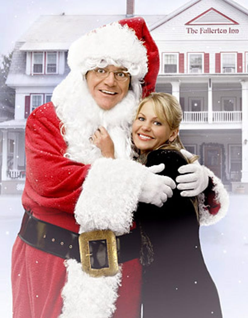 Moonlight and Mistletoe - Tom Arnold as Nick and Candace Cameron Bure as his daughter Holly