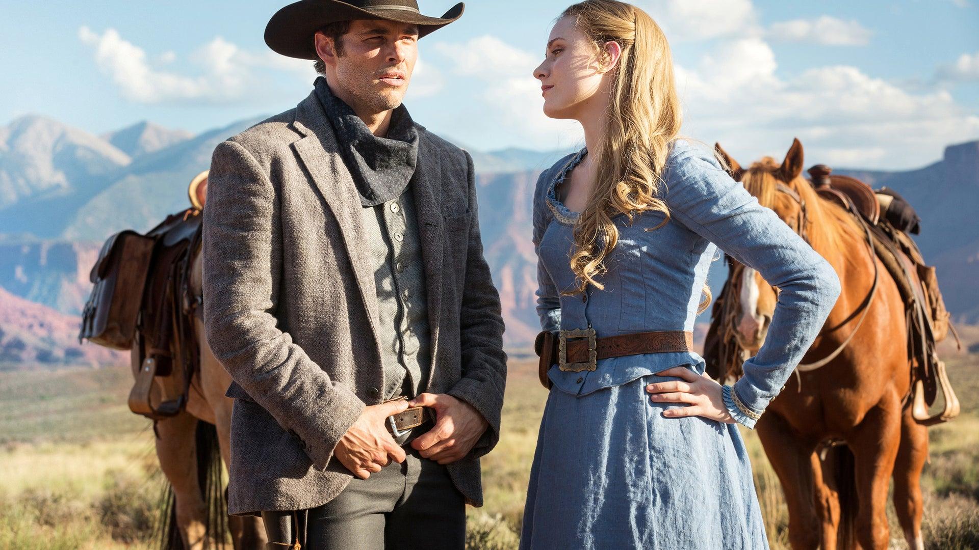 James Marsden, Evan Rachel Wood; Westworld