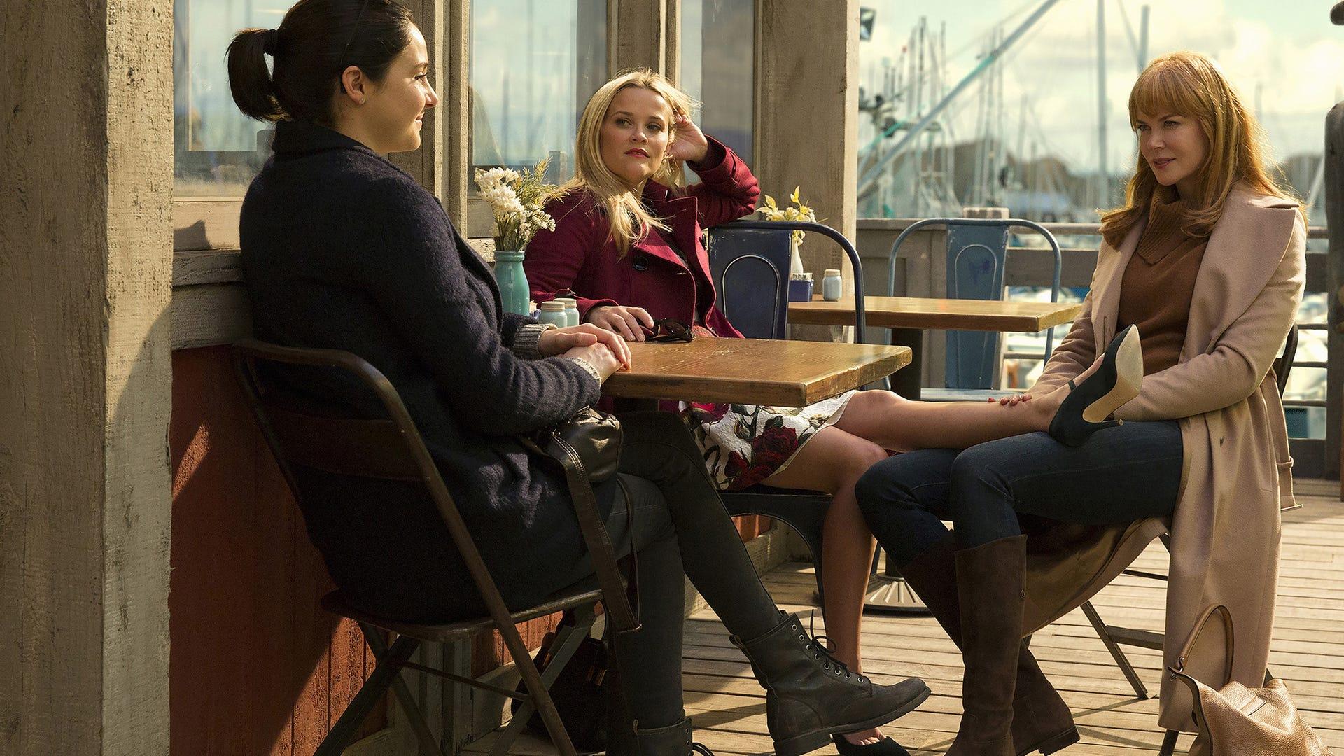 Shailene Woodley, Reese Witherspoon and Nicole Kidman, Big Little Lies