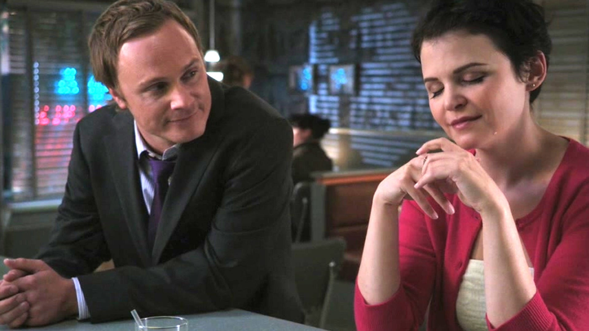 David Anders and Ginnifer Goodwin, Once Upon a Time