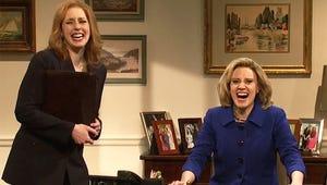 SNL Mocks Hillary Clinton Announcement, and Taraji P. Henson Brings Cookie to Sesame Street