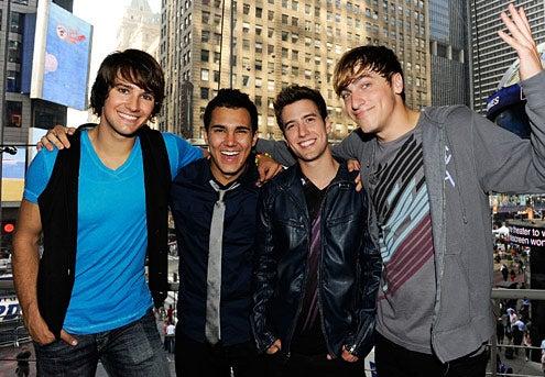 Big Time Rush - James Maslow, Carlos Pena, Logan Henderson and Kendall Schmidt