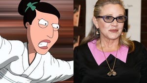 Exclusive: Watch a Sneak Peek of Carrie Fisher's Penultimate Family Guy Appearance