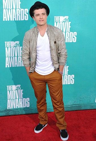 Josh Hutcherson - 2012 MTV Movie Awards in Universal City, California, June 3, 2012