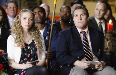 "Mr. Sunshine - Season 1 - ""The Assistant"" - Portia Doubleday, Nate Torrence"