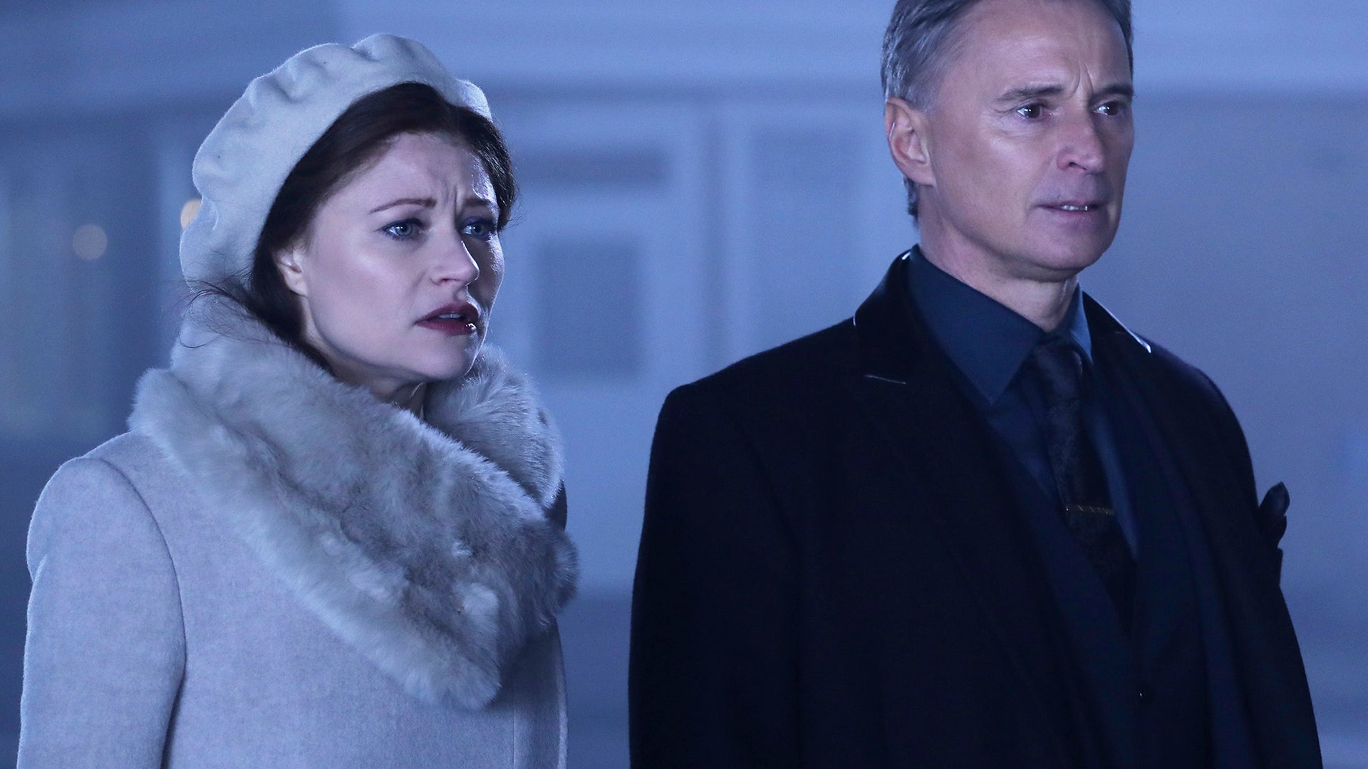Emilie de Ravin and Robert Carlyle, Once Upon a Time
