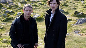 Weekend TV Roundup: Sherlock, Rock 'n' Roll, Comedy Awards and More