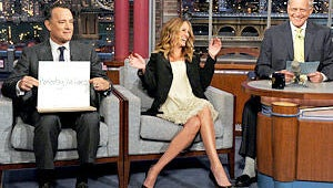 Cheers & Jeers: Late Show — When Tom Met Julia…