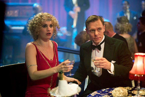Downton Abbey - Season 3 - Lily James and Edward Baker-Duly