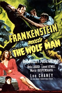 Frankenstein Meets the Wolf Man as The Wolf Man/Lawrence Talbot