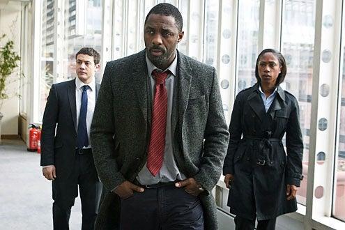Luther - Season 2 - Warren Brown, Idris Elba and Nikki Amuka-Bird