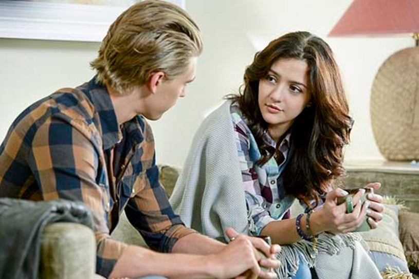"""The Carrie Diaries - Season 2 - """"The Safety Dance"""" - Austin Butler and Katie Findlay"""