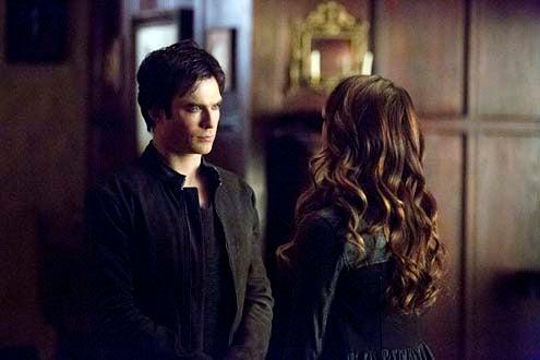 """The Vampire Diaries - Season 5 - """"Gone Girl"""" - Ian Somerhalder and Nina Dobrev"""