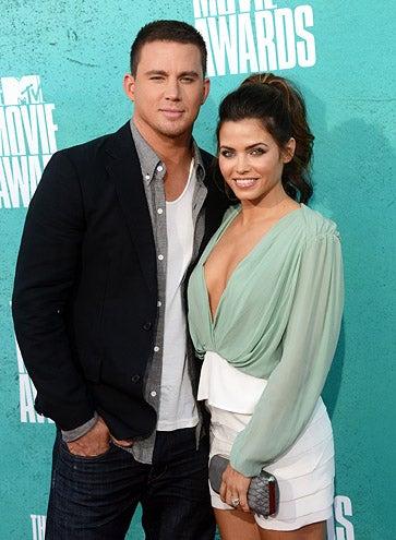Channing Tatum and Jenna Dewan-Tatum - 2012 MTV Movie Awards in Universal City, California, June 3 ,2012