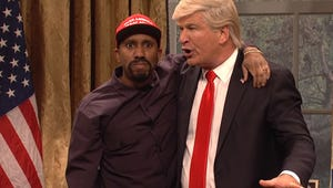 Saturday Night Live Goes Full Bore on Kanye West