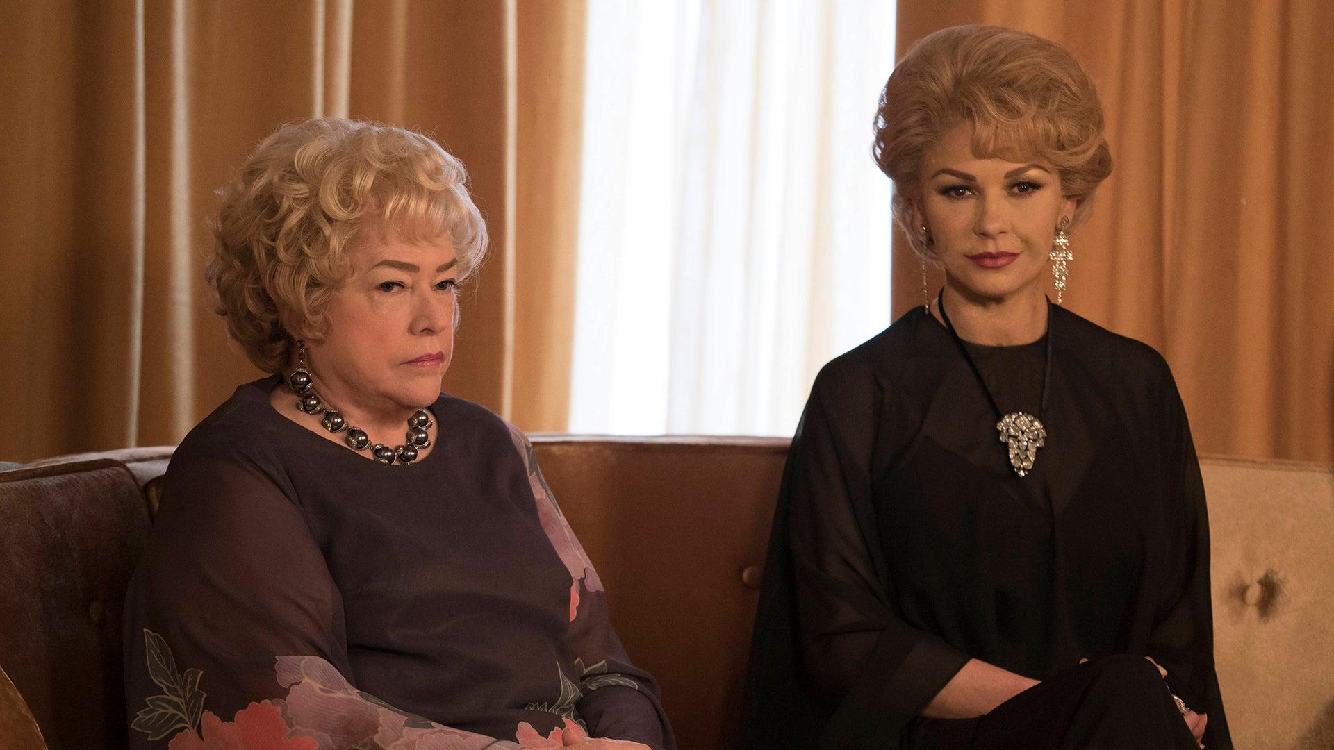 Kathy Bates and Catherine Zeta-Jones, Feud: Bette and Joan