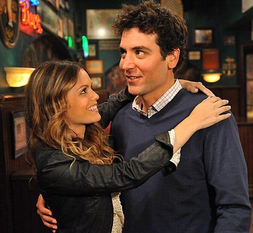 """How I Met Your Mother - Season 6 - """"Big Days"""" - Rachel Bilson, Josh Radnor"""