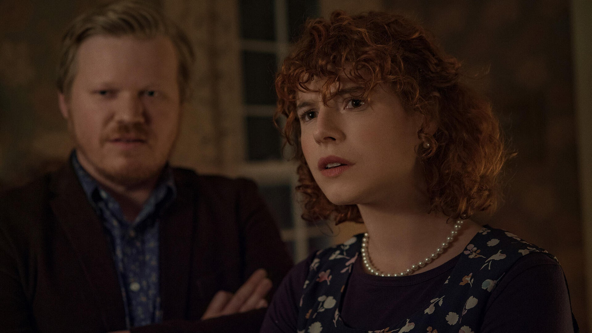 Jesse Plemons and Jessie Buckley, I'm Thinking of Ending Things