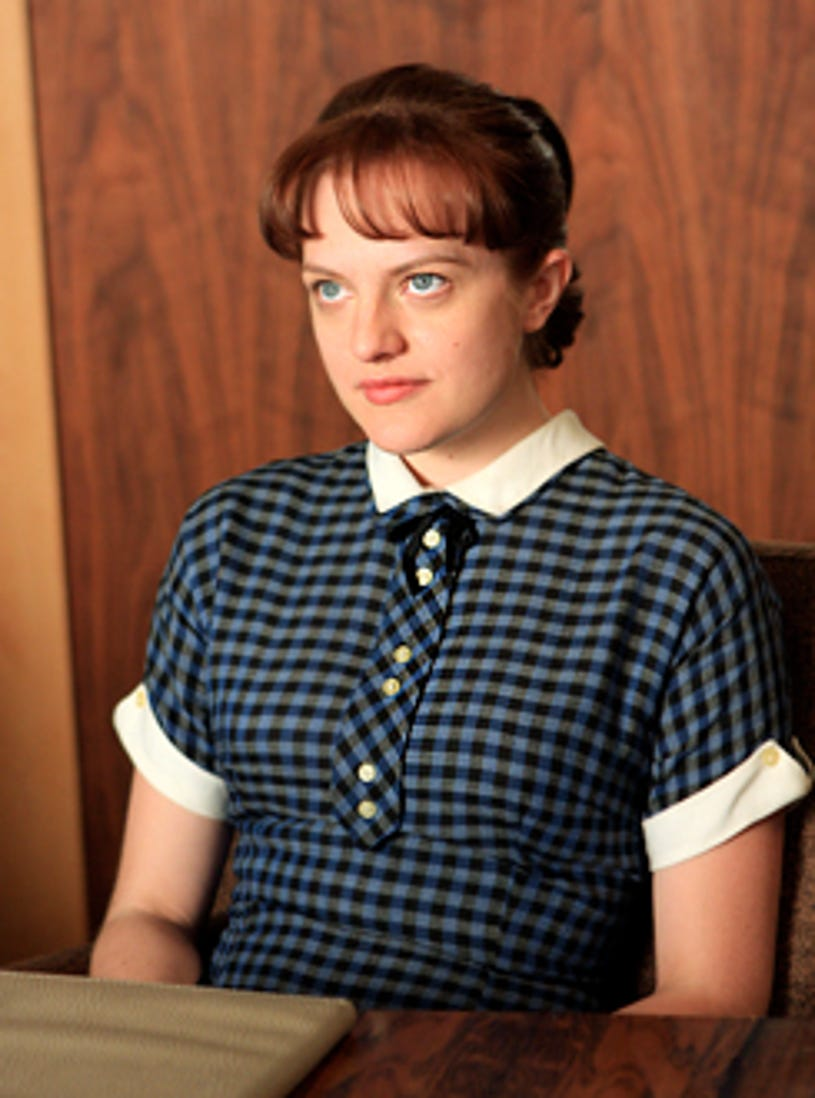 """Mad Men - Season 2, """"For Those Who Think Young"""" - Elisabeth Moss as Peggy Olson"""