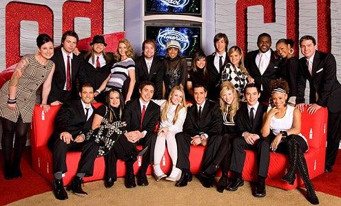 American Idol - Season 7 - The Top 20 contestants