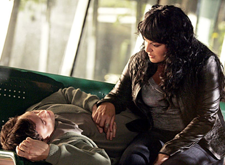 """Grey's Anatomy - Season 3, """"I Am a Tree"""" - T.R. Knight and Sara Ramirez"""