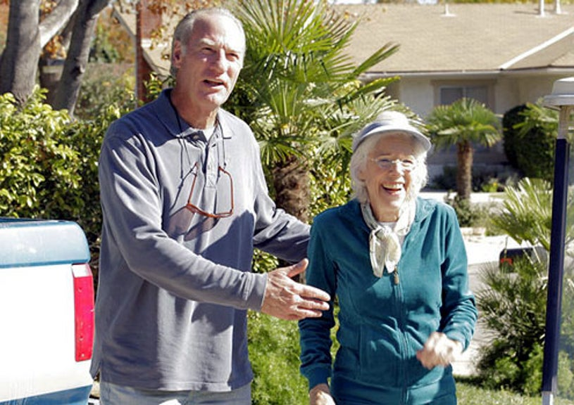 "Parenthood - Season 3 - ""Road Trip"" - Craig T. Nelson as Zeek Braverman and Frances Stenhagen as Blanche"