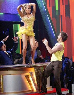 Dancing With The Stars - Season 12 - Len Goodman, Bruno Tonioli, Kendra Wilkinson and Louis Van Amstel