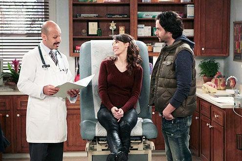 "Whitney - Season 2 - ""2 Broke Hearts"" - Maz Jobrani, Whitney Cummings and Chris D'Elia"
