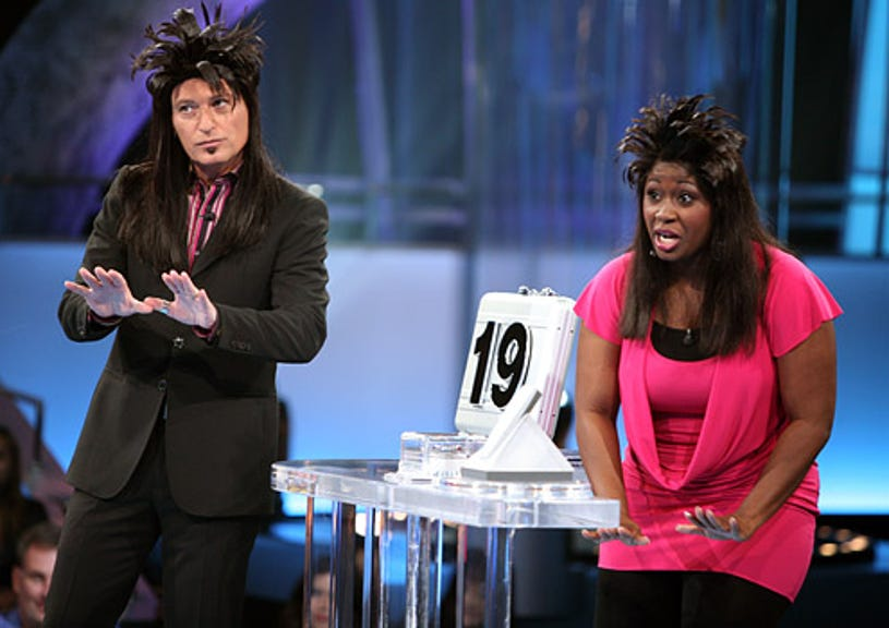 Deal or No Deal - Season 3 - Host Howie Mandel and contestant Brady Brown