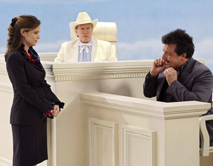 """According to Jim - Season 8 - """"Heaven Opposed to Hell"""" - Kimberly Williams-Paisley, Lee Majors and Mitch Rouse"""