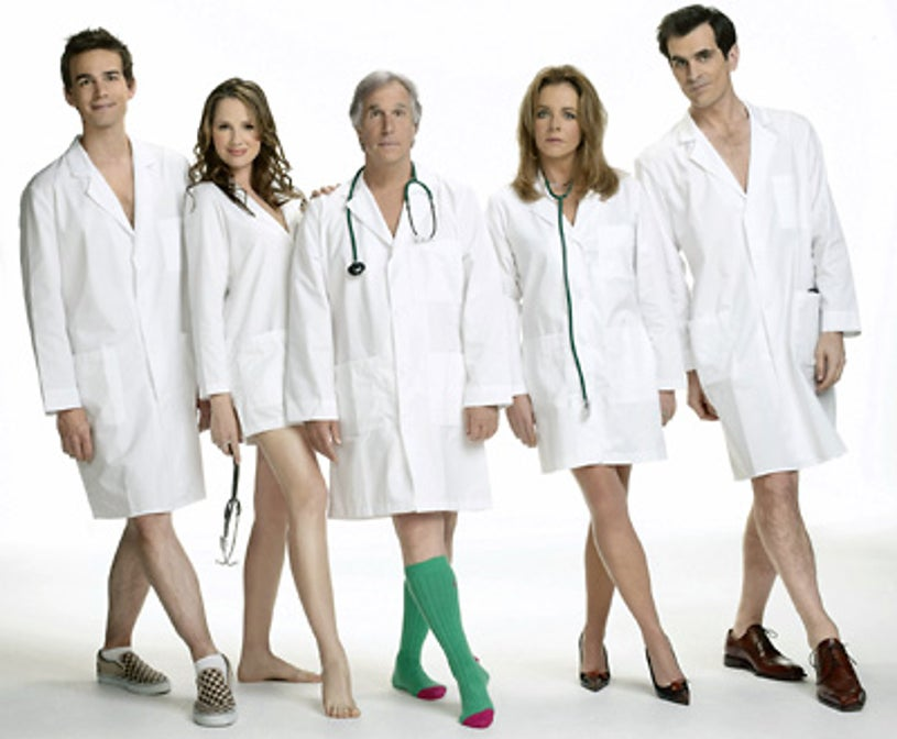 Out of Practice - Christopher Gorham, Paula Marshall, Henry Winkler, Stockard Channing, and Ty Burrell