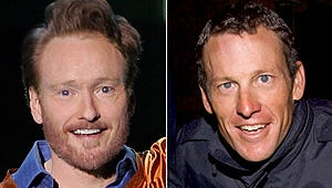 Conan and Lance Armstrong Engage In Oh-So-Mild Twitter Feud