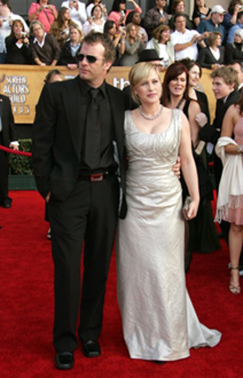 Thomas Jane and Patricia Arquette - Screen Actors Guild Awards, Jan 2007
