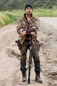 Justin Rain as Quileute Warrior
