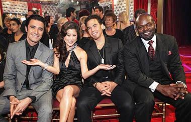 Dancing with the Stars - Season 11 - Gilles Marini, Kristi Yamaguchi, Apolo Anton Ohno, Emmitt Smith