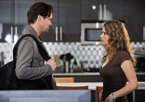 "Nikita - Season 2 - ""Sanctuary"" - Shane West as Michael and Lyndsy Fonseca as Alex"