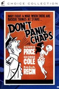 Don't Panic, Chaps! as Finch