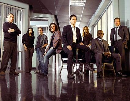 Numb3rs - Season Three - cast