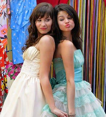 Princess Protection Program - Demi Lovato as Princess Rosalinda and Selena Gomez as Carter