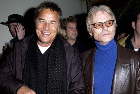 Don Johnson and Michael Des Barres - 2002 Sundance Film Festival