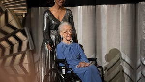 The Real NASA Physicist of Hidden Figures Just Took the Stage at the Oscars