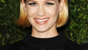 """January Jones Says She Was """"Excited"""" to Be a Single Mom"""