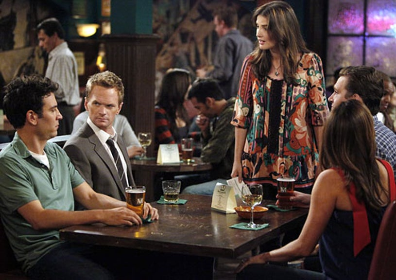 """How I Met Your Mother - Season 5 - """"Duel Citizenship"""" - Josh Radnor as Ted, Neil Patrick Harris as Barney, Cobie Smulders as Robin"""