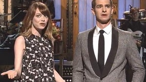Saturday Night Live: Andrew Garfield Makes Out with Chris Martin
