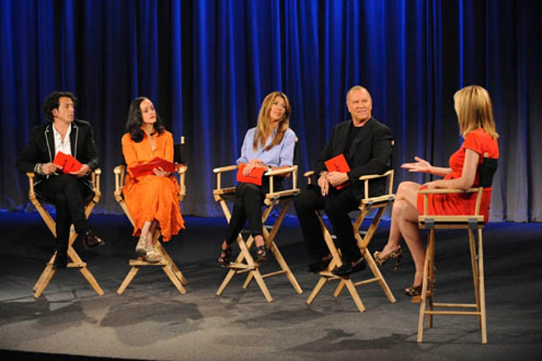 Project Runway - Season 7 - Episode 7: Hard Wear - Jewelry designers Stephen Webster and Isabel Toldeo join judges Nina Garica, Michael Kors and Heidi Klum