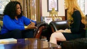 VIDEO: Lindsay Lohan Breaks Down About Her Sobriety to Oprah