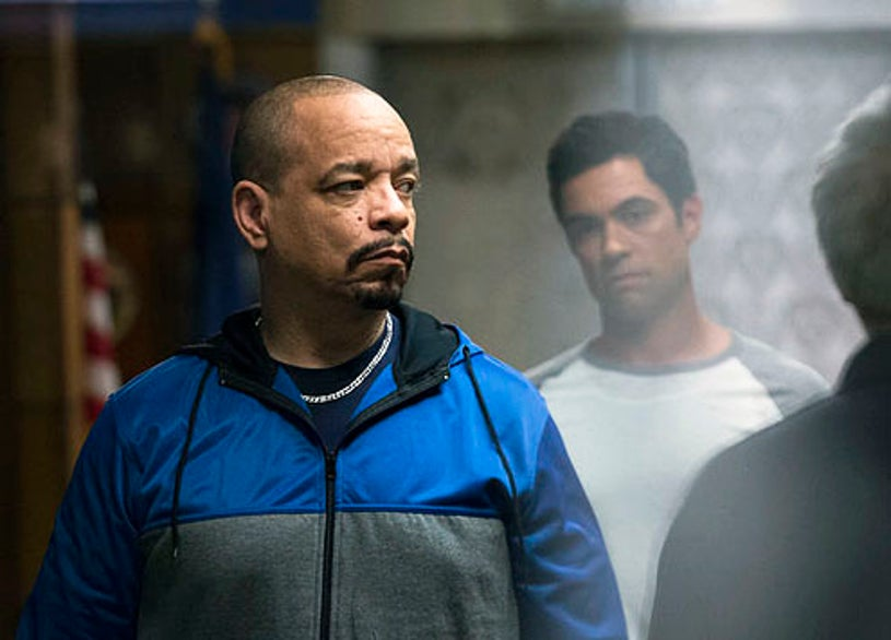"""Law & Order: Special Victims Unit - Season 14 - """"Her Negotiation"""" - Ice-T and Danny Pino"""